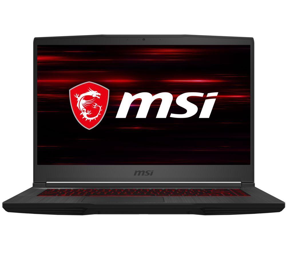 "MSI GF65 Thin 15.6"" Gaming Laptop - Intel® Core™ i7, RTX 3060, 512 GB SSD"