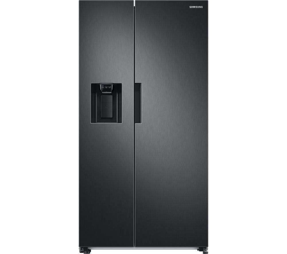 SAMSUNG RS8000 RS67A8810B1/EU American-Style Fridge Freezer - Black Stainless Steel, Stainless Steel