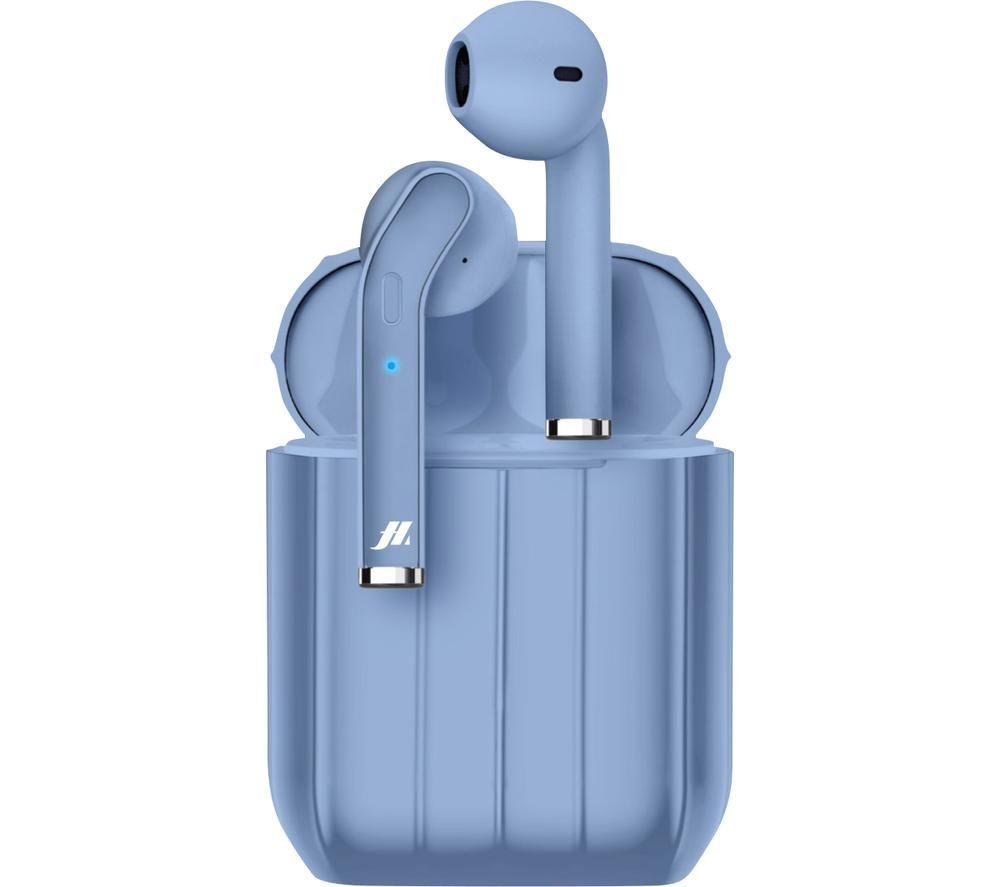 SBS Music Hero Style MHTWSSTYLEBTB Wireless Bluetooth Earphones - Blue, Blue