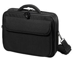 """Widescreen 17.3"""" Laptop Messenger Bag - Black"""
