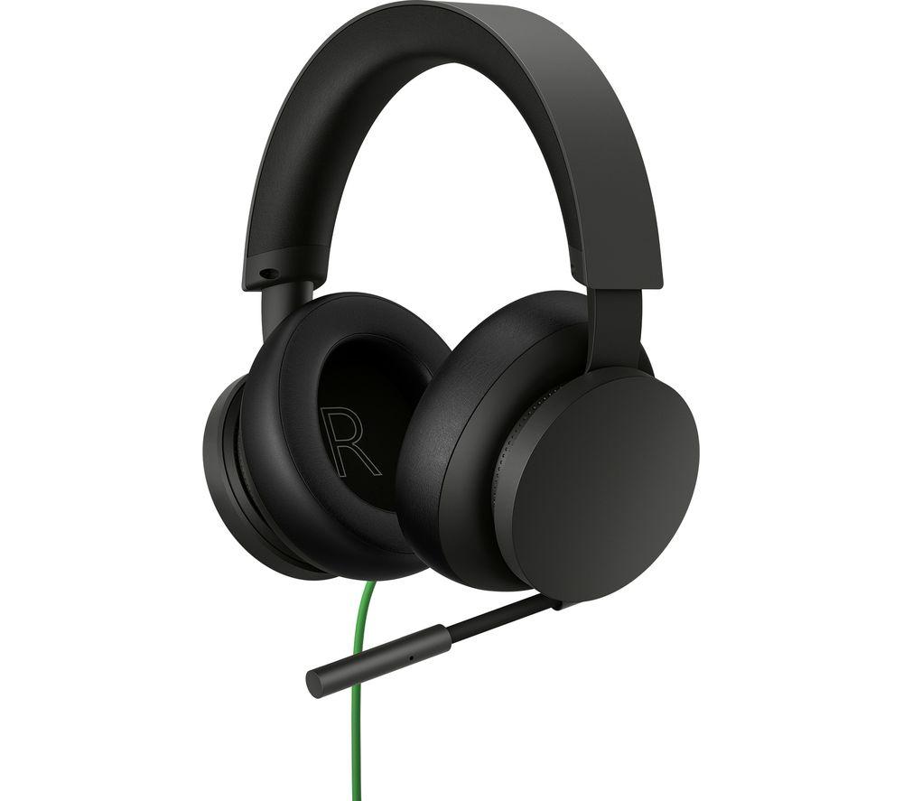 MICROSOFT Xbox Stereo Headset - Black