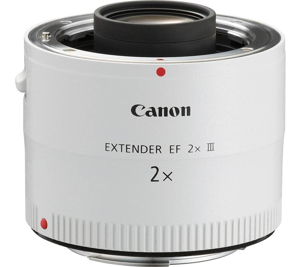 Compare cheap offers & prices of Canon EF 2x III Lens Extender manufactured by Canon