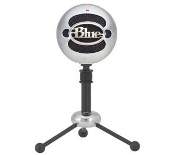 BLUE Snowball USB Microphone - Silver