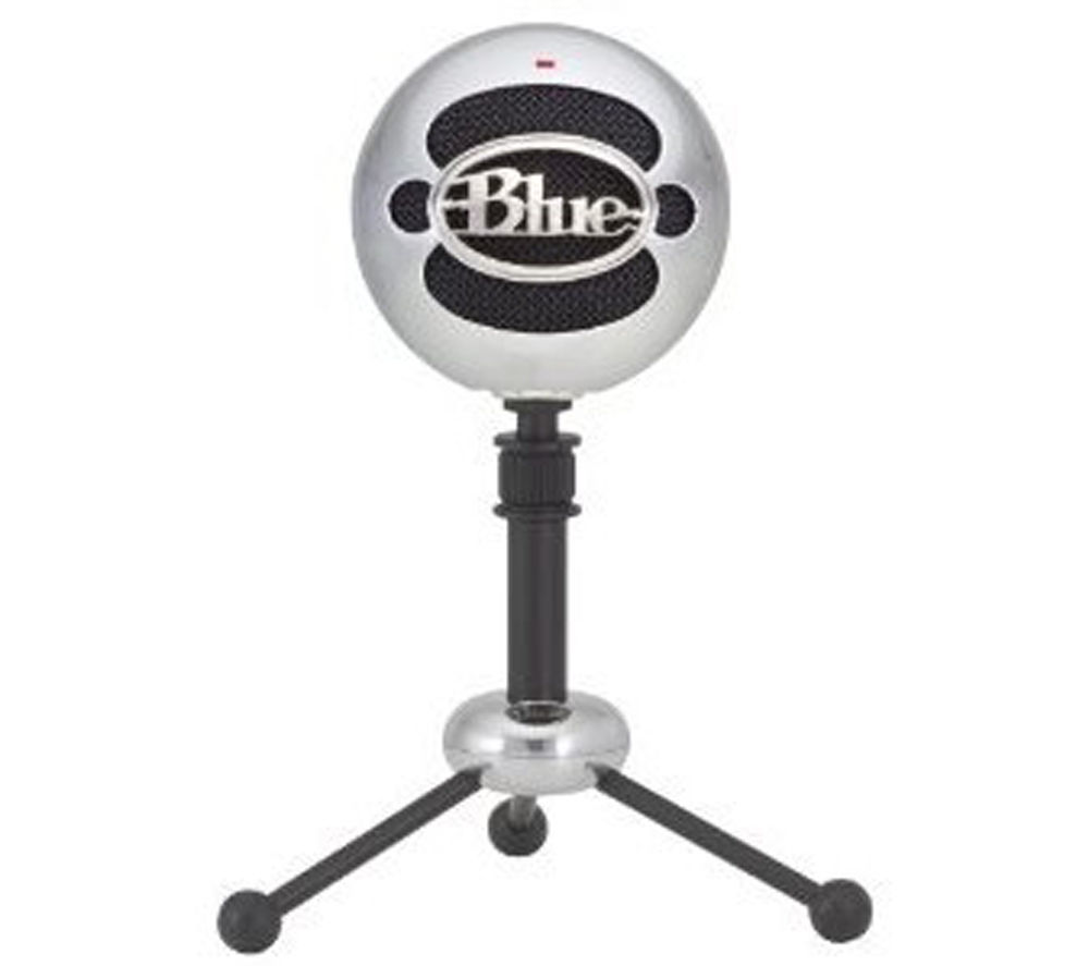 Image of BLUE Snowball USB Microphone - Silver, Blue
