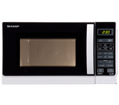 R662WM Microwave with Grill - White