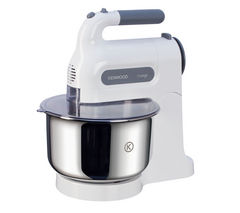 KENWOOD Chefette HM680 Hand Mixer with Bowl - White & Grey