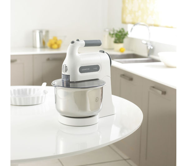 Kenwood Chefette Hm680 Hand Mixer With Bowl White Amp Grey