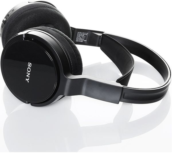 40901144843 SONY MDR-RF811RK Wireless Headphones - Black Fast Delivery | Currysie