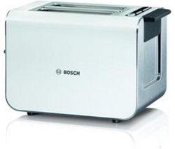 BOSCH Styline TAT8611GB Advantage 2-Slice Toaster - White