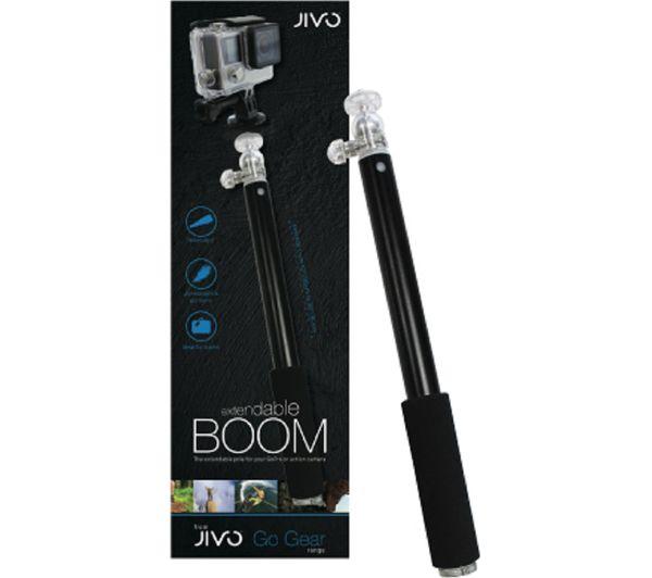 Image of JIVO TECHNOLOGY Go Gear Go Pro Boom Pole - Black