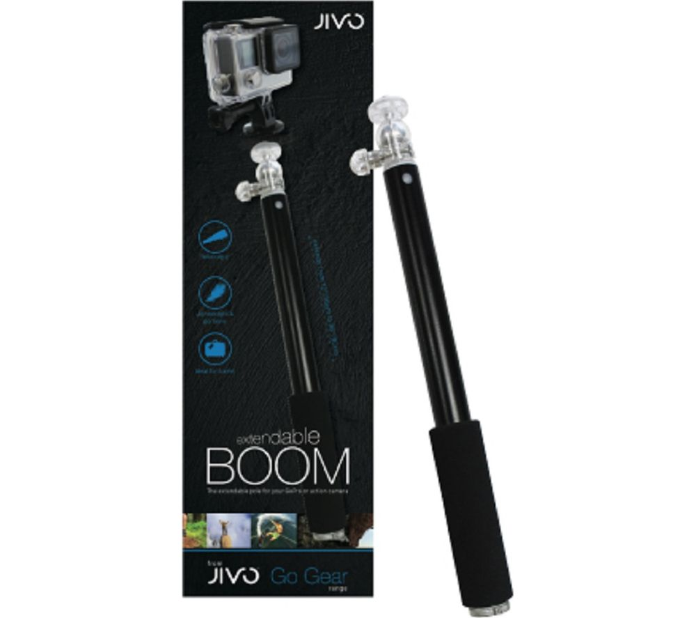 Image of Go Gear Go Pro Boom Pole - Black, Black