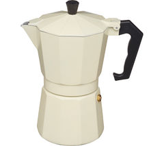 LE'XPRESS Italian Style Espresso Coffee Maker - Cream