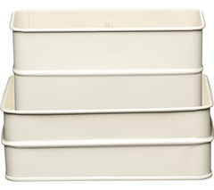 KITCHEN CRAFT Living Nostalgia Sink Tidy - Cream