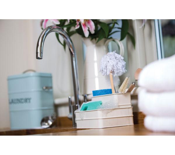 Buy KITCHEN CRAFT Living Nostalgia Sink Tidy - Cream | Free ...