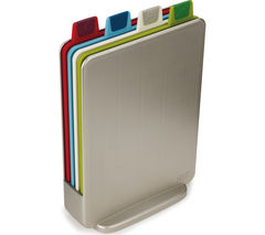 JOSEPH JOSEPH 60097 Index Mini Chopping Board Set - Silver