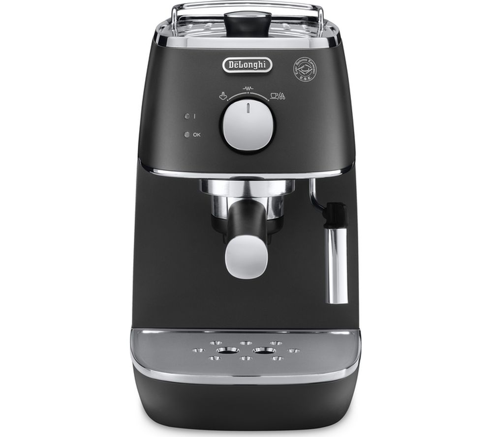buy delonghi distinta eci341bk coffee machine black free delivery currys. Black Bedroom Furniture Sets. Home Design Ideas