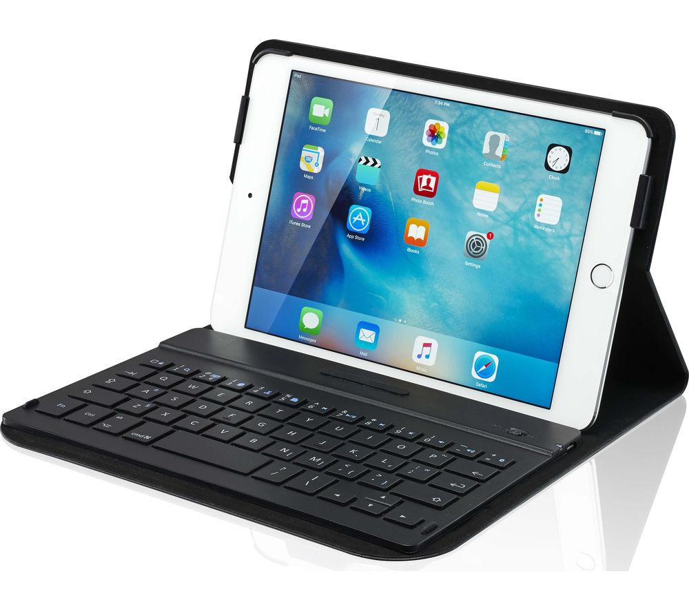 IWANTIT IM4KBCB16 Keyboard Folio iPad Mini 4 Case - Black