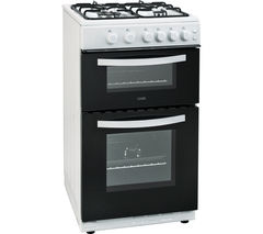 LOGIK LFTG50W16 50 cm Gas Cooker - White