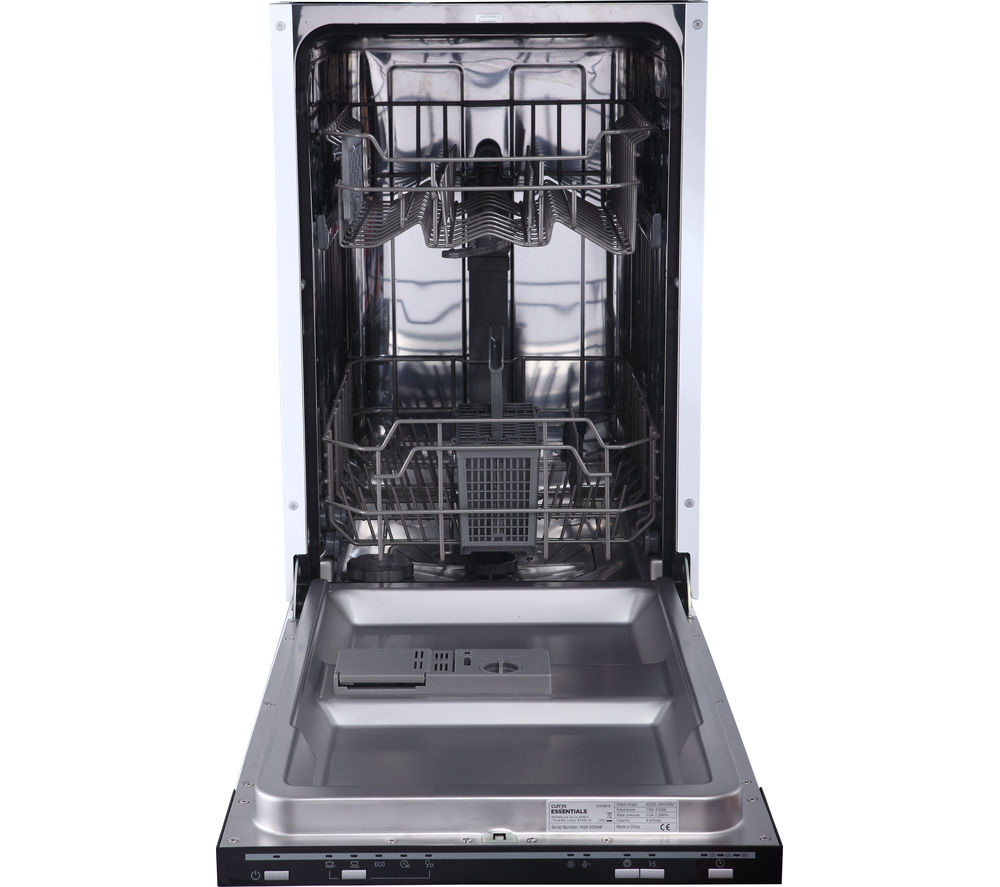 buy essentials cid45b16 slimline integrated dishwasher