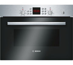 BOSCH Serie 6 HBC84H501B Built-in Combination Microwave - Stainless Steel