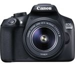 CANON EOS 1300D DSLR Camera with 18-55 mm f/3.5-5.6 Lens - Black