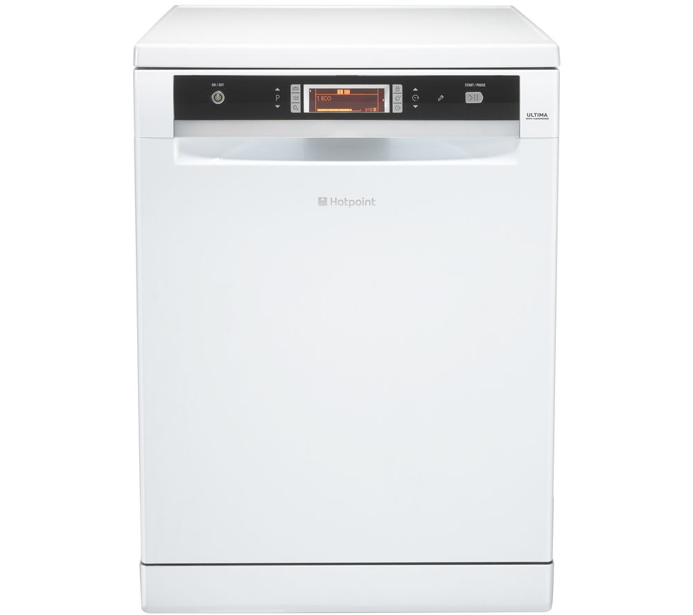 HOTPOINT Ultima FDUD 51110P Full-size Dishwasher - White
