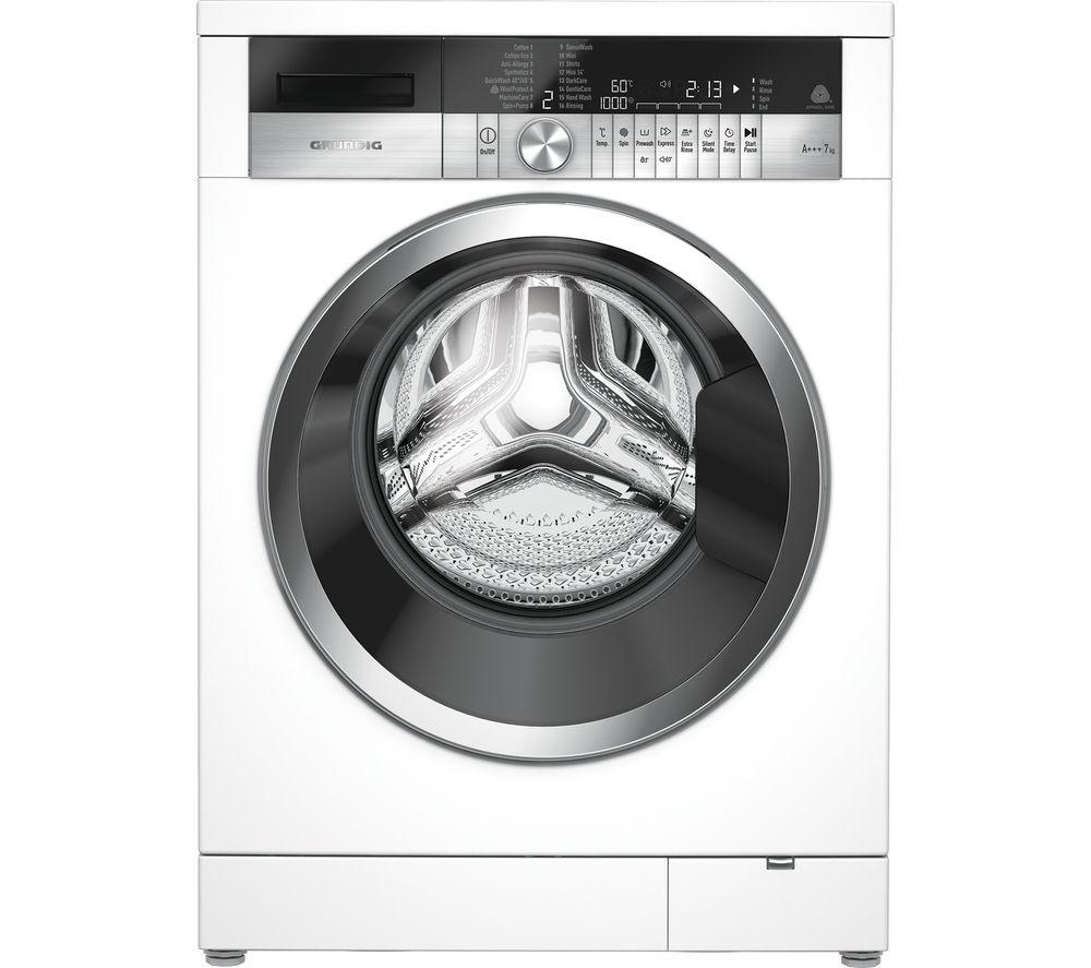 GRUNDIG GWN47430CW Washing Machine - White