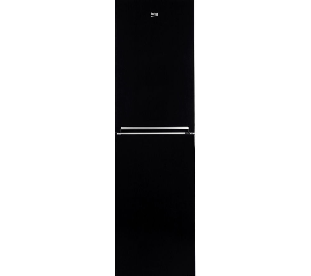Beko CFG1582B Fridge Freezer - Black