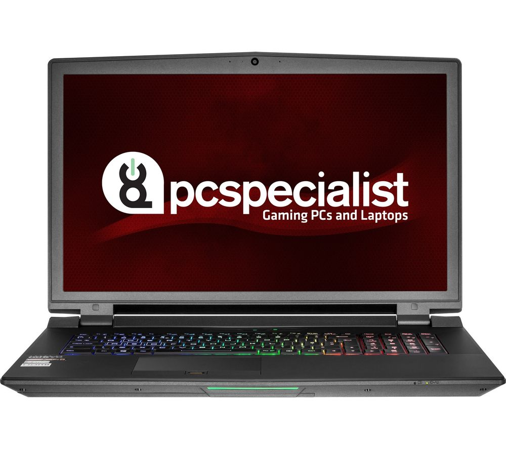 """PC SPECIALIST Octane III RS17-XT 17.3"""" Gaming Laptop - Black"""