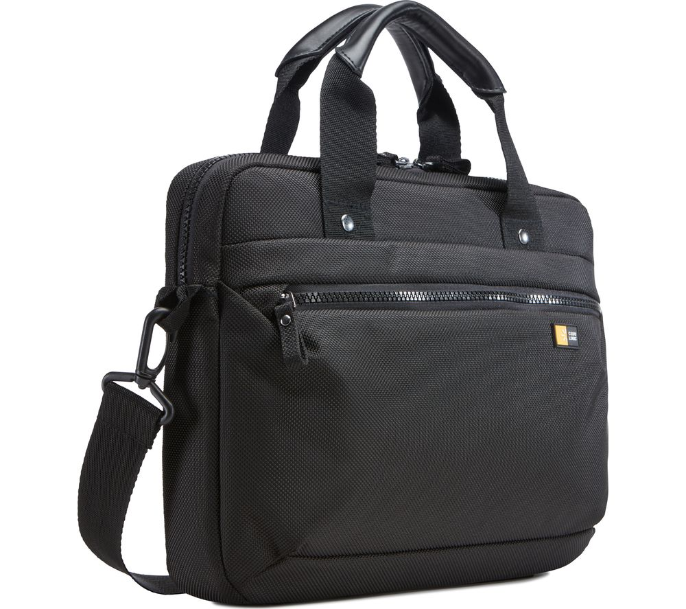 "CASE LOGIC Bryker Attache 11"" Laptop Case - Black"