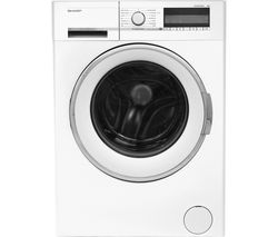 SHARP ES-GFC8144W3 Washing Machine - White