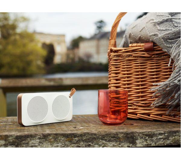 Buy JVC SPADM Portable Bluetooth Wireless Speaker White Gold - Abt speakers