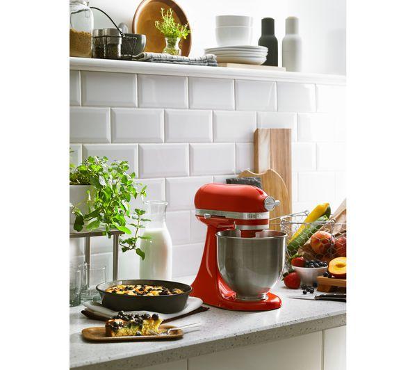 KITCHENAID Artisan Mini 5KSM3311XBHT Stand Mixer - Hot Sauce