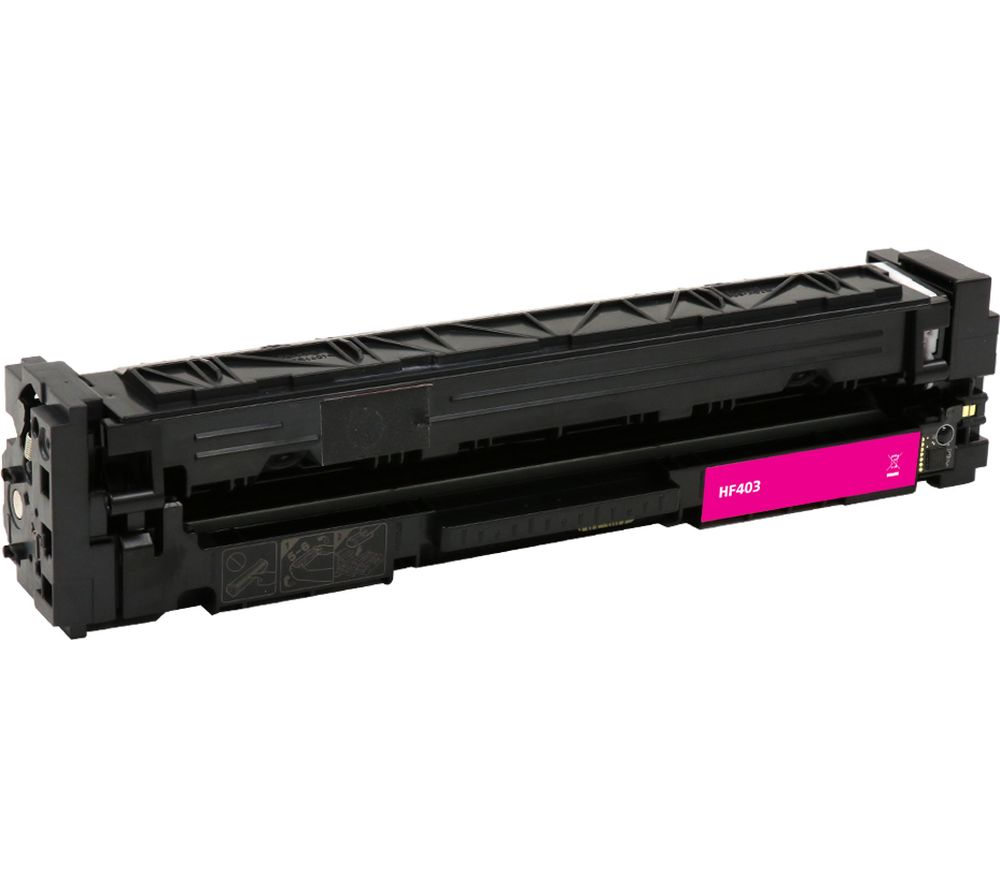 Image of ESSENTIALS Remanufactured CF403A Magenta HP Toner Cartridge, Magenta