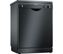 BOSCH SMS25AB00G Full-size Dishwasher - Black Best Price, Cheapest Prices