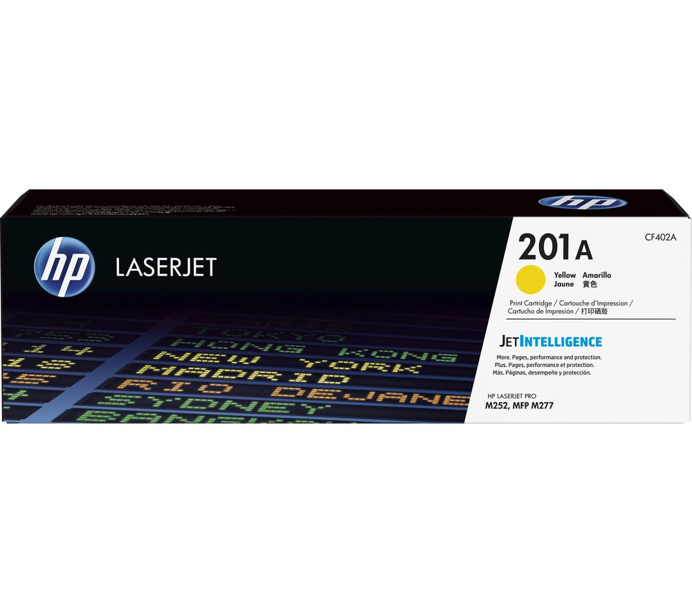 HP 201A Yellow Toner Cartridge