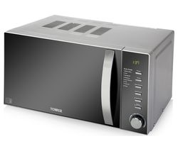 TOWER T24007 Solo Microwave - Grey
