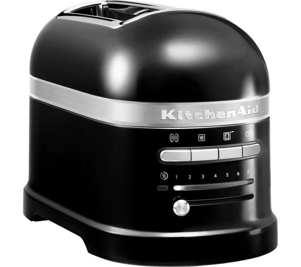 KITCHENAID Artisan 5KMT2204BOB 2-Slice Toaster - Onyx Black
