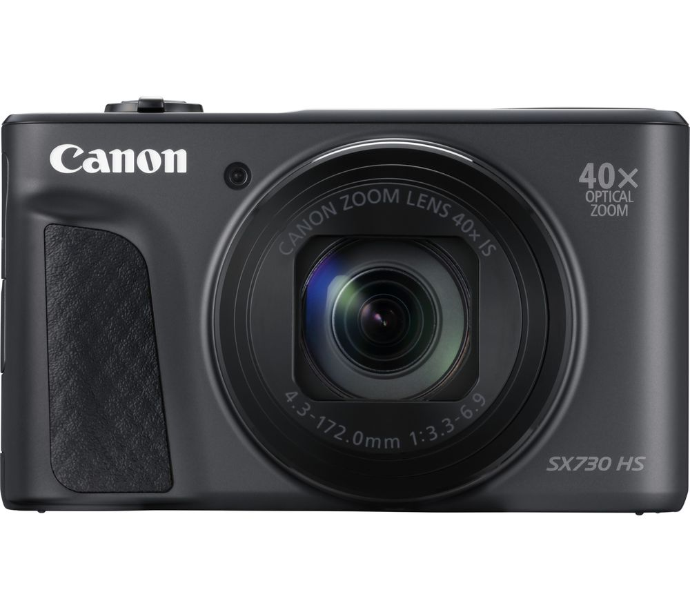 CANON PowerShot SX730 HS Superzoom Compact Camera - Black