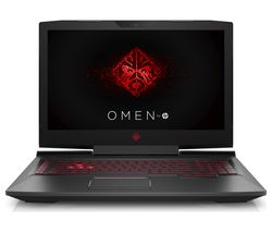 "HP OMEN 17-an051na 17.3"" Gaming Laptop - Shadow Black"