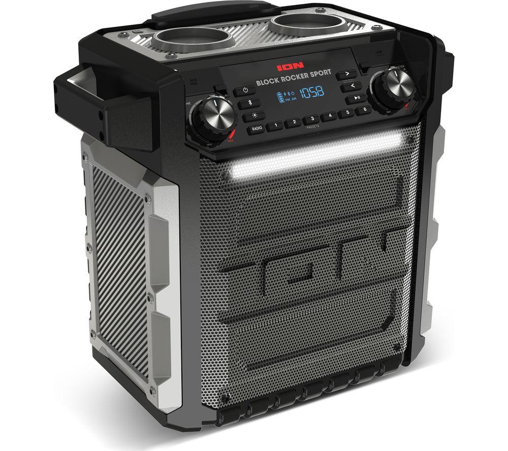 Buy Ion Block Rocker Sport Portable Bluetooth Wireless