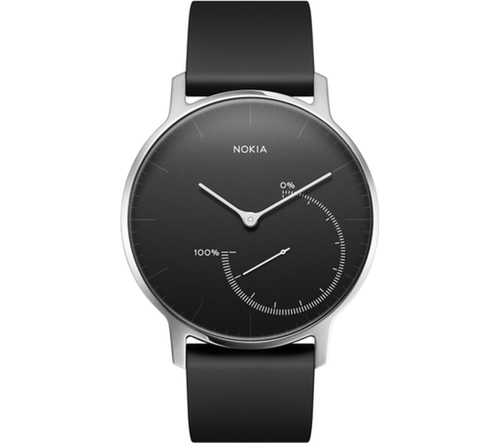 NOKIA Steel - Black & Black