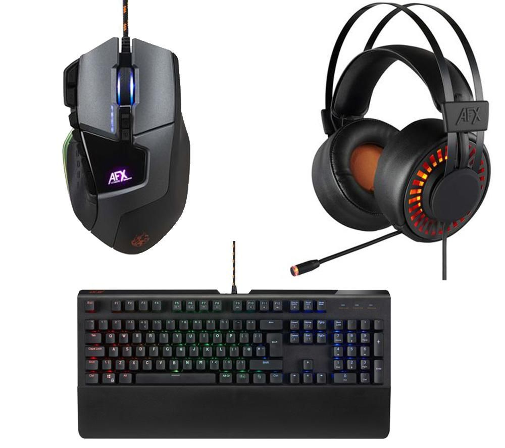 ADX Keyboard, Mouse & Headset Gaming Bundle