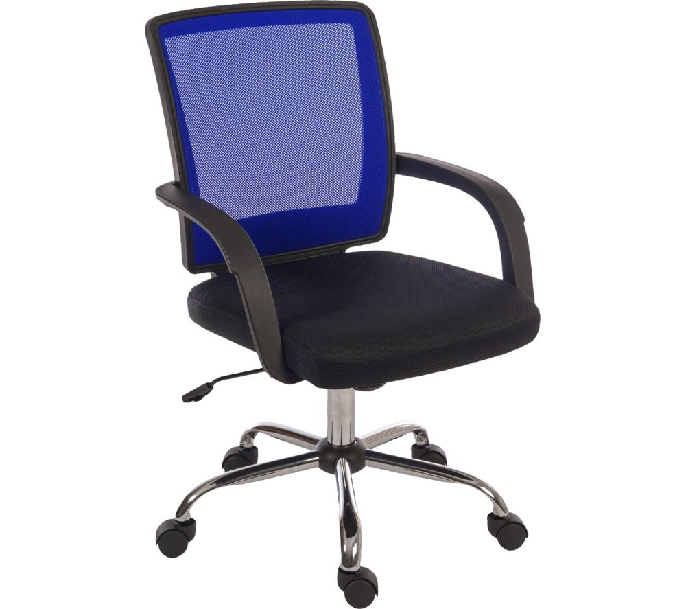 TEKNIK Star 6910BL Mesh Reclining Executive Chair - Blue