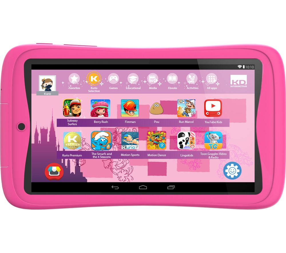 Compare retail prices of Kurio Advance C17151 7 Inch Tablet - 16 GB Pink Pink to get the best deal online