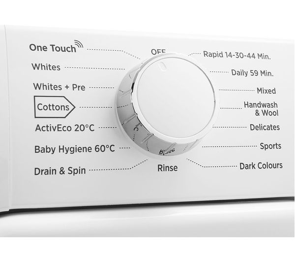 HOOVER DHL 1682D3 NFC 8 kg 1600 Spin Washing Machine - White