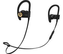 BEATS Powerbeats3 Wireless Bluetooth Headphones - Trophy Gold