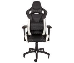CORSAIR T1 Race Gaming Chair - Black & White