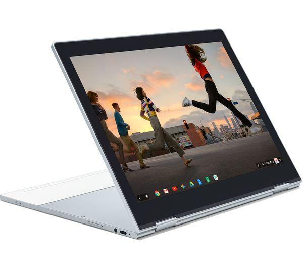 "Image of GOOGLE Pixelbook 00123 12.3"" Intel® Core™ i5 2 in 1 Chromebook - 256 GB eMMC, Silver"