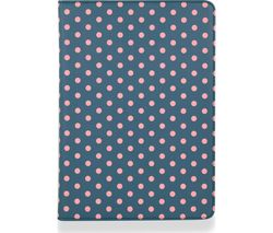 "GOJI 9.7"" iPad Folio Case - Blue & Pink"